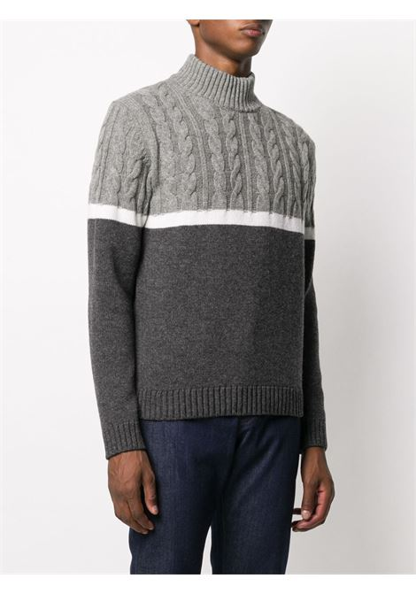 Gray/white/black jumper ZANONE |  | 812414ZM236Z5321