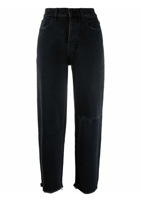 Jeans nero 7 FOR ALL MAN KIND | JSDYB340FDBLACK