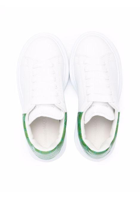 Sneakers bianca/verde ALEXANDER McQUEEN KIDS | 587691WIAH39409