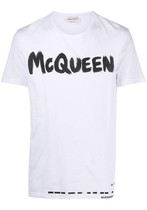 White t-shirt ALEXANDER McQUEEN | T-SHIRT | 622104QPZ570900
