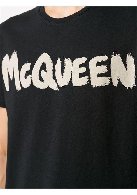 Black t-shirt ALEXANDER McQUEEN | 622104QPZ570901