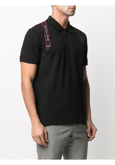 Black Polo shirt ALEXANDER McQUEEN | POLO | 625245QQX331000
