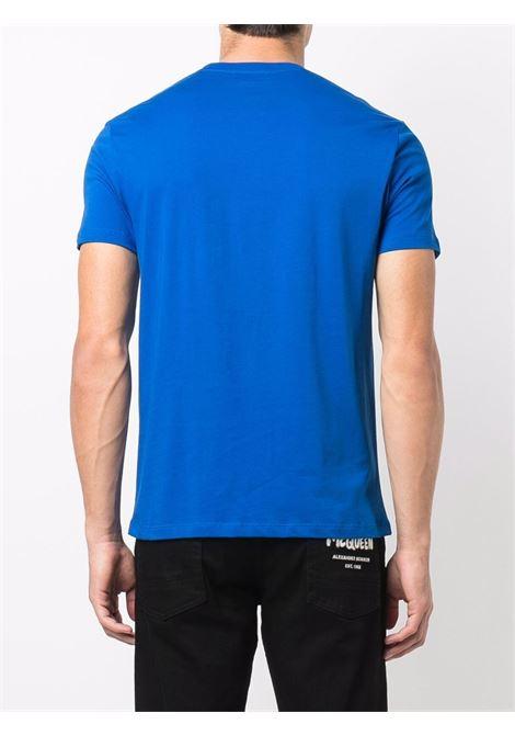 T-shirt blu ALEXANDER McQUEEN | 642662QRX740903