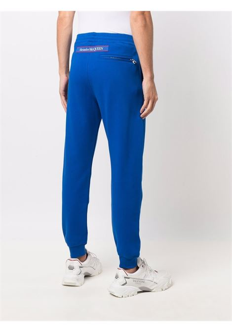 Blue track pants ALEXANDER McQUEEN | TROUSERS | 642664QRX750903