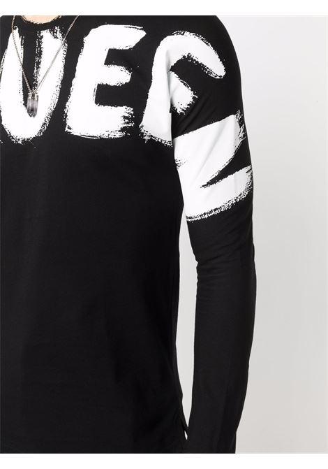Black t-shirt ALEXANDER McQUEEN | T-SHIRT | 664426QRZ890901