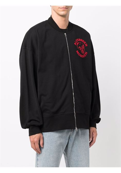 Black/red sweatshirt ALEXANDER McQUEEN | SWEATSHIRTS | 664954QRZ2A0901