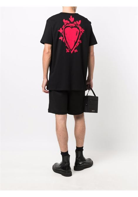 T-shirt nero ALEXANDER McQUEEN | 666611QRZ900901