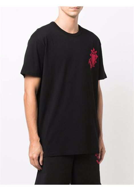 Black t-shirt ALEXANDER McQUEEN | T-SHIRT | 666611QRZ900901