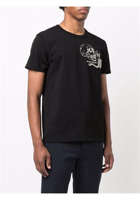 Black t-shirt ALEXANDER McQUEEN | T-SHIRT | 666619QRX031000