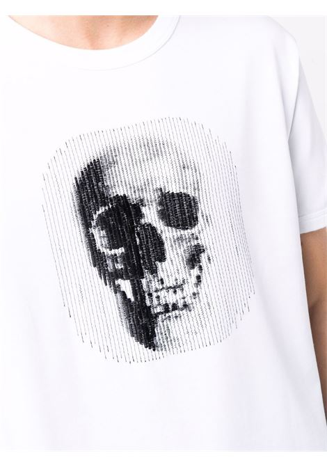 White t-shirt ALEXANDER McQUEEN | T-SHIRT | 666625QRX889000