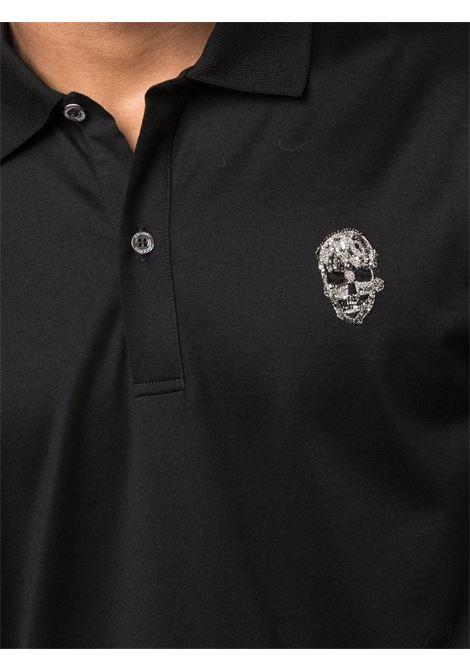 Black Polo shirt ALEXANDER McQUEEN | POLO | 666628QRX011000