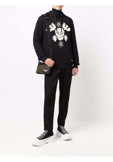Black sweatshirt ALEXANDER McQUEEN | SWEATSHIRTS | 666638QRX431000