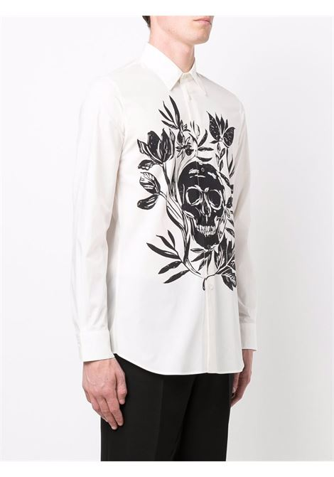 Camicia bianca ALEXANDER McQUEEN | 666764QRO349080