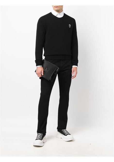 Black jumper ALEXANDER McQUEEN | JERSEYS | 668957Q1XBU1042