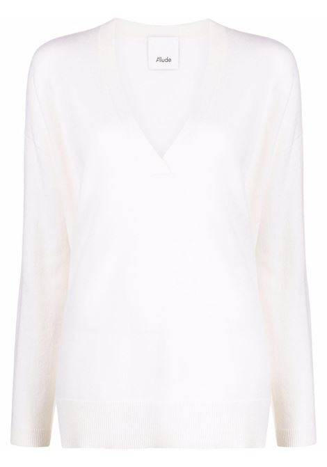 White jumper ALLUDE   21560011640