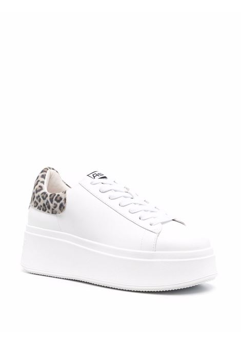 Sneakers bianca ASH | F21MOBY01WHTBLK