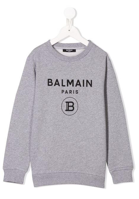 Grey jumper BALMAIN KIDS | 6M4760MX270915