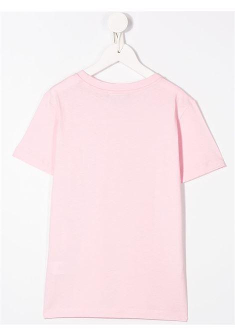 T-shirt rosa BALMAIN KIDS | 6M8721MX030506