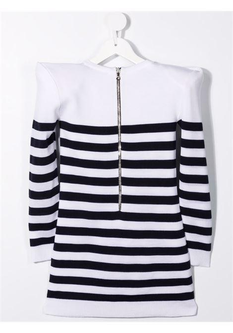 White pullover BALMAIN KIDS | 6P1120W0011100BL