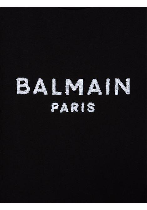 Black dress BALMAIN KIDS | 6P1151TZ0057930