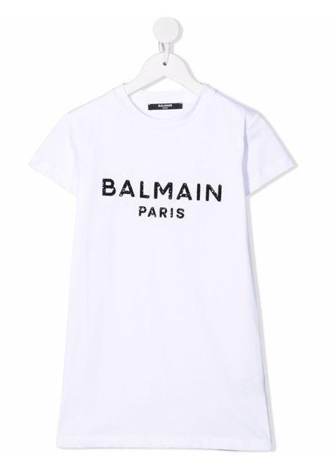 White dress BALMAIN KIDS | 6P1151Z0057100