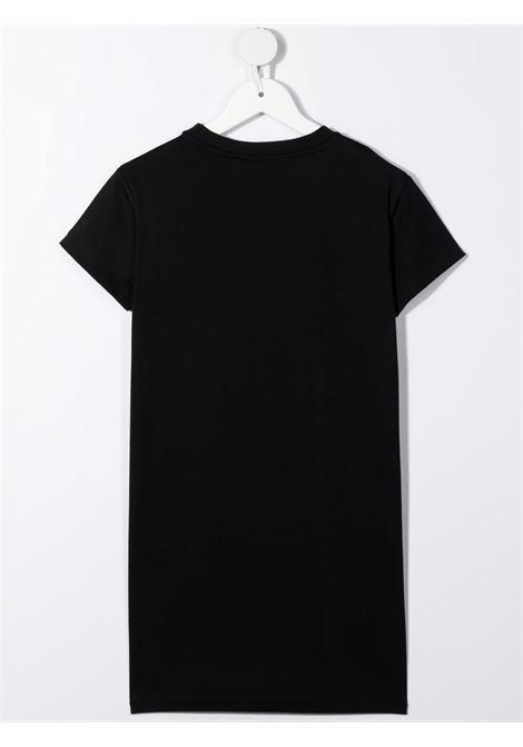 Black dress BALMAIN KIDS | 6P1151Z0057930