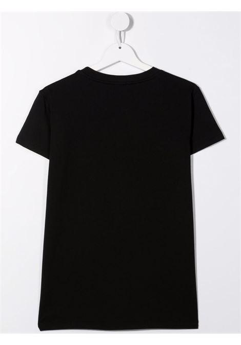 T-shirt nera BALMAIN KIDS   T-SHIRT   6P8101TJ0006930