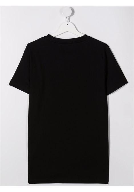 Black t-shirt BALMAIN KIDS | T-SHIRT | 6P8521TZ0003930BC