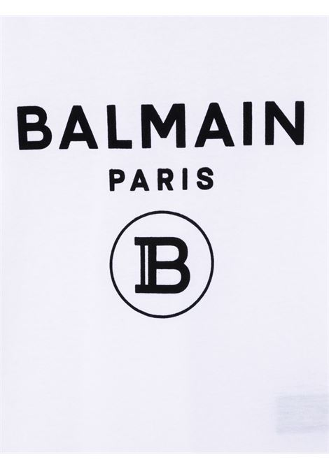 White t-shirt BALMAIN KIDS | T-SHIRT | 6P8541Z0003100NE