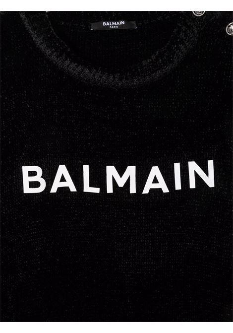 Black jumper BALMAIN KIDS | 6P9010TX0002930BC