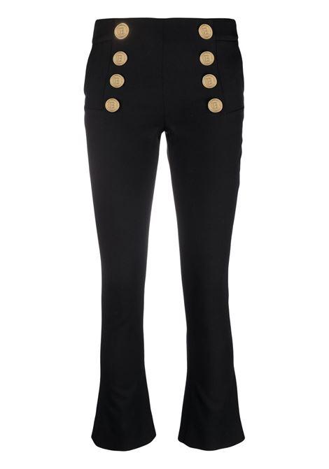 Pantalone nero BALMAIN | WF1PP055W1050PA
