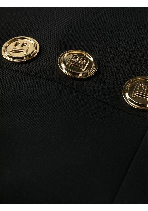 Pantalone nero BALMAIN | PANTALONI | WF1PP055W1050PA
