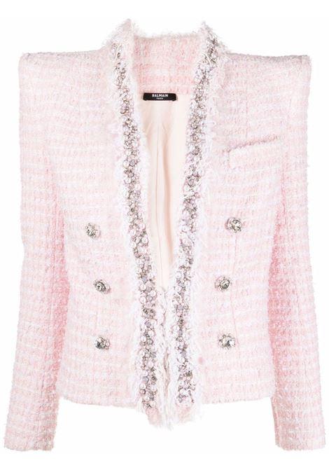 Pink jacket BALMAIN   WF1SC022P091GGF