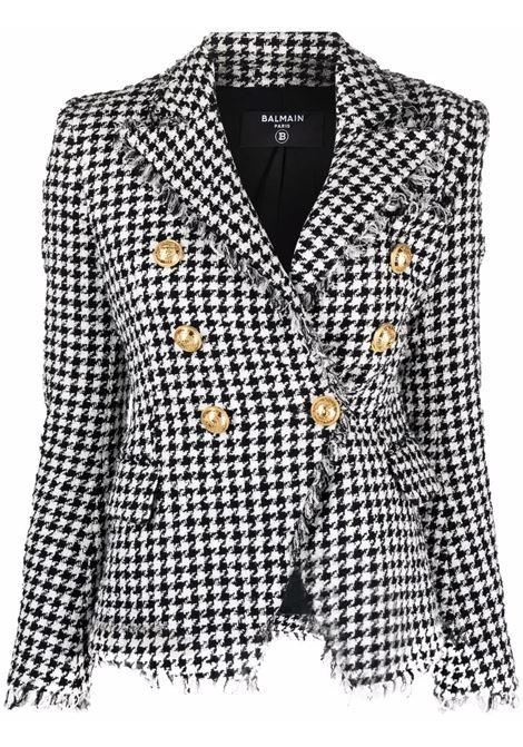 White/black jacket BALMAIN   WF1SG000C299GAB