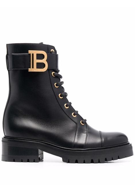 Black boots BALMAIN   WN0TC502LVIT0PA