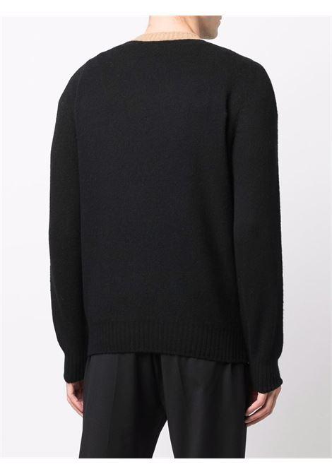 Maglione nero/grigio BARBA | 1880623595099