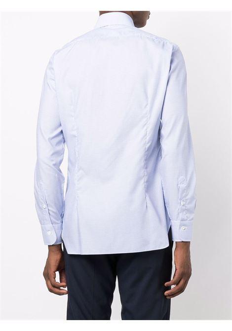 Camicia blu/bianca BARBA | CAMICIE | I1U13P01PZ5807U