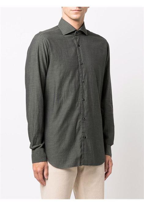 Camicia verde BARBA | K1U13P01823304U