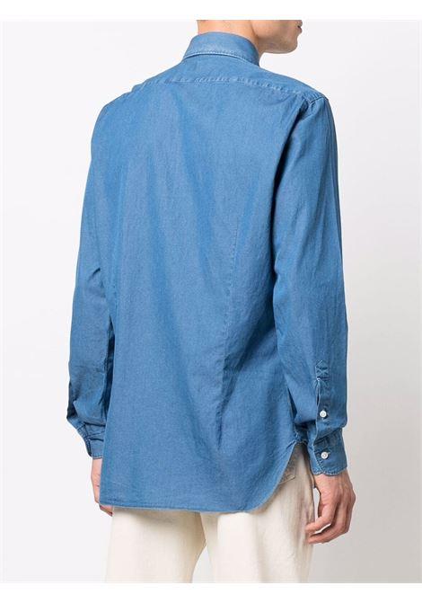 Camicia blu BARBA | K1U13P01842001U