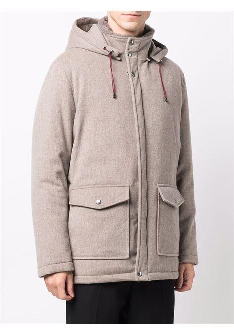 Beige coat BARBA   KATSP59228
