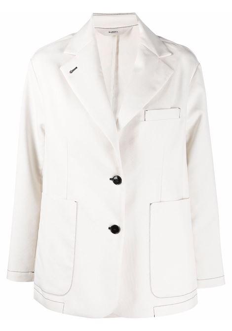 Blazer bianco BARENA | CSD32515107500