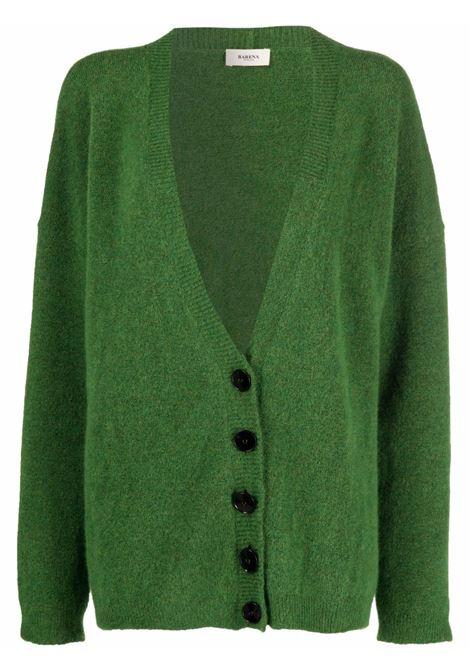 Cardigan verde BARENA | KND33280408305