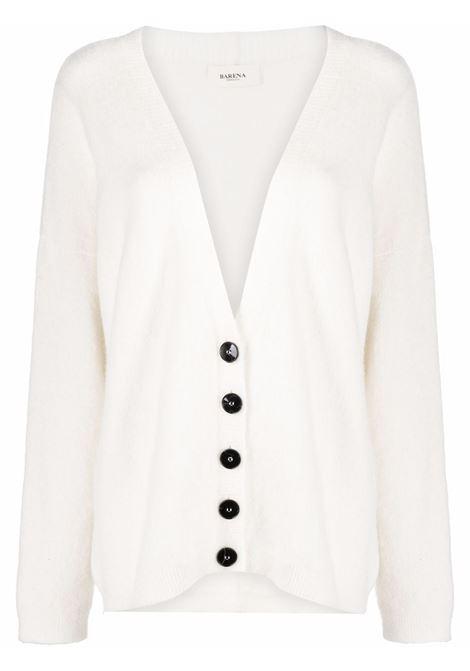 Cardigan bianco BARENA | KND33280408500