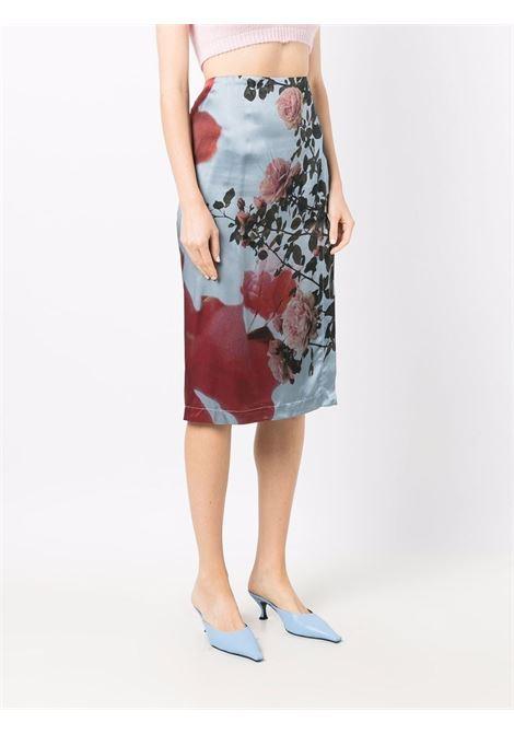 Blue skirt BLUMARINE | 2G028A105