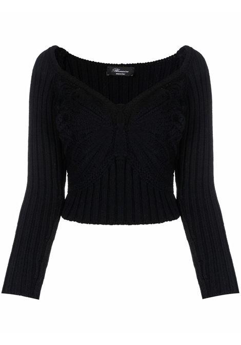 Black jumper BLUMARINE | 2M107A140