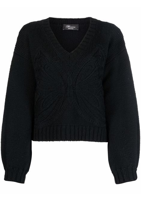 Black jumper BLUMARINE | 2M128A140