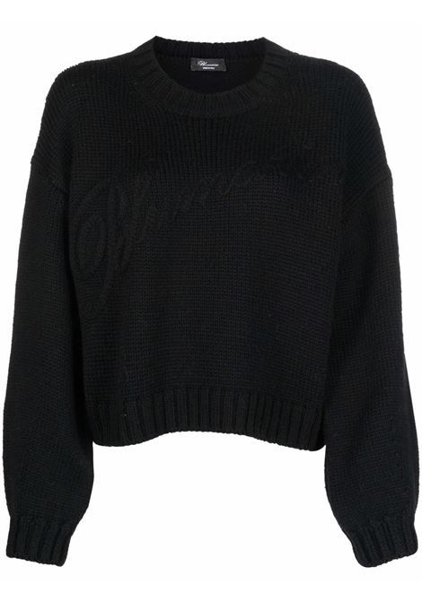 Black jumper BLUMARINE | 2M129A140