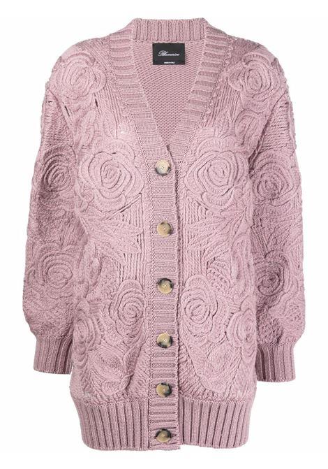 Pink cardigan BLUMARINE | 2S016S182