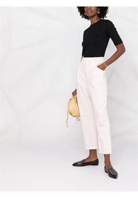 Pantalone bianco BRUNELLO CUCINELLI | PANTALONI | M0R24P7745C2350