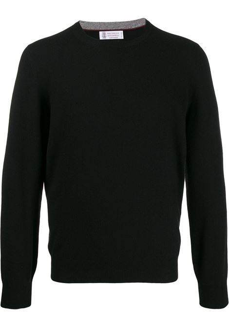 Black jumper BRUNELLO CUCINELLI | M2200100CH101